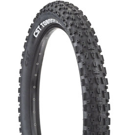CST CST Toboggan Tire - 26 x 4, Clincher, Wire, Black