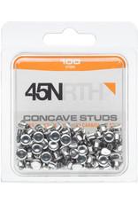 45NRTH 45NRTH Concave Carbide Aluminum Studs: Pack of 100