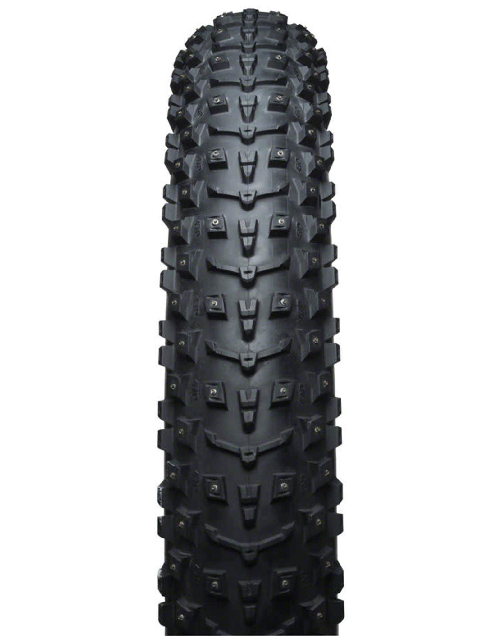 45NRTH 45NRTH Dillinger 5 Tire - 26 x 4.6, Tubeless, Folding, Black, 60tpi, 258 Carbide Steel Studs