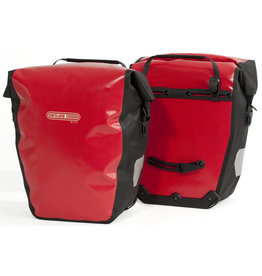 Ortlieb Ortlieb Back Roller City Rear Pannier: Pair Red/Black 40L