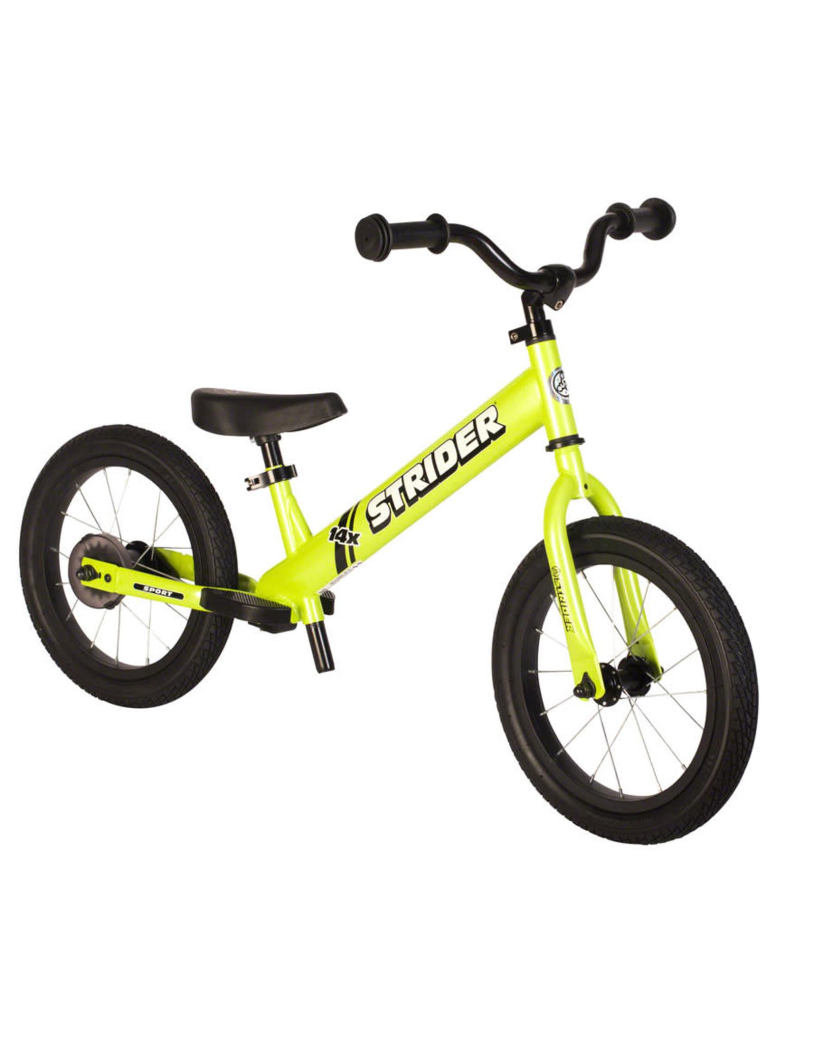 Strider Sports Strider 14x Sport Balance Bike, Green