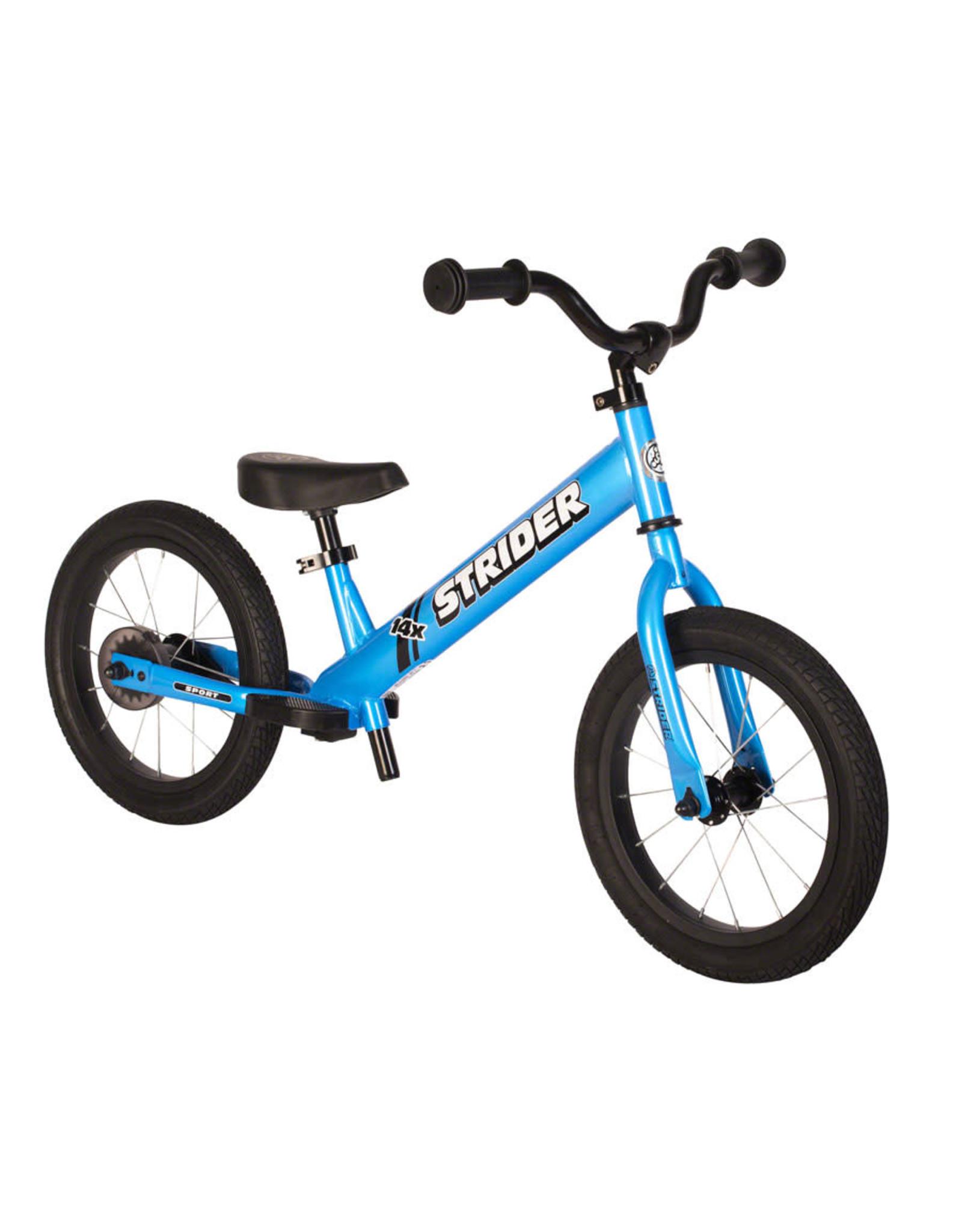 Strider Sports Strider 14x Sport Balance Bike, Blue