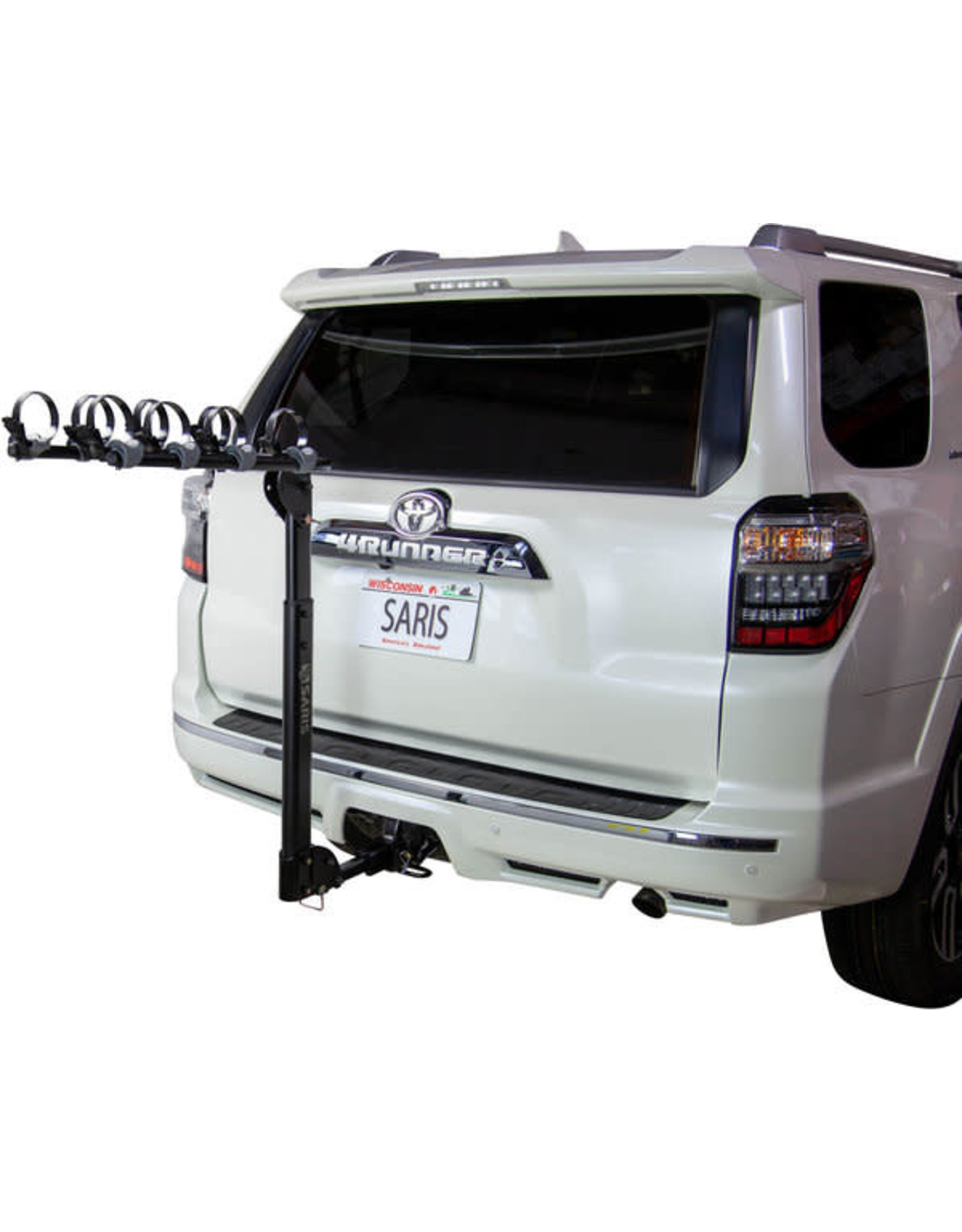Saris Saris Grand Slam Hitch Bike Rack: 4 Bike, Universal Hitch, Black