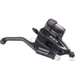 Shimano Shimano Acera M360 8-Speed Brake/Shift Lever Set, Black