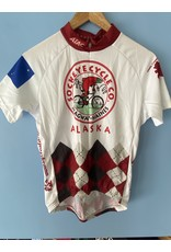 Atac Jersey Atac Womens SS Argyle Sola Wht/Red