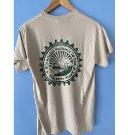 Goodtimes T-Shirt SS Gildan Klondike Summit to Sea Sand w/ Green Print
