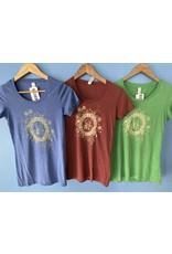 Goodtimes T-Shirt Womens SS Flower Logo