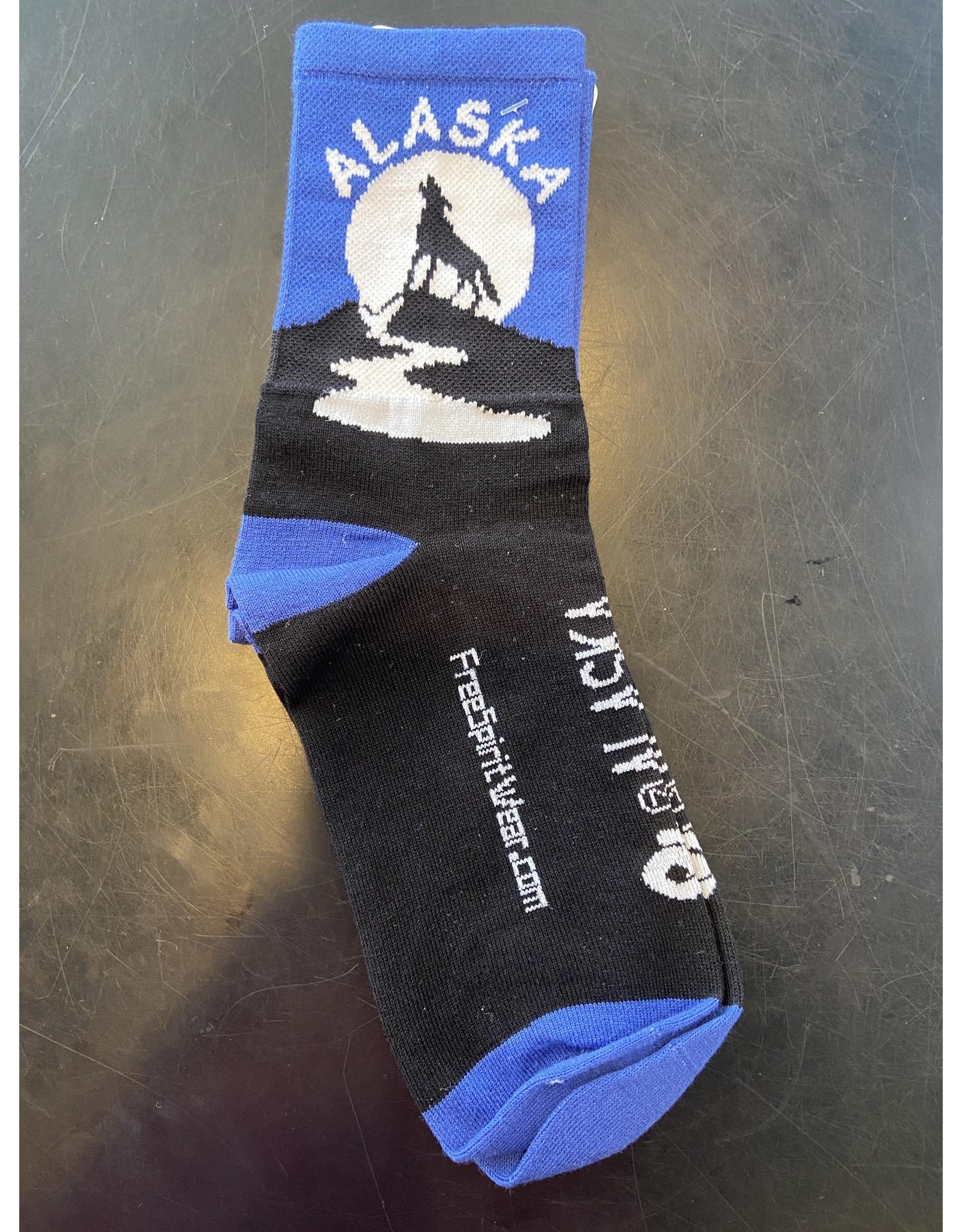 Free Spirit Socks Free Spirit Alaska Wolf