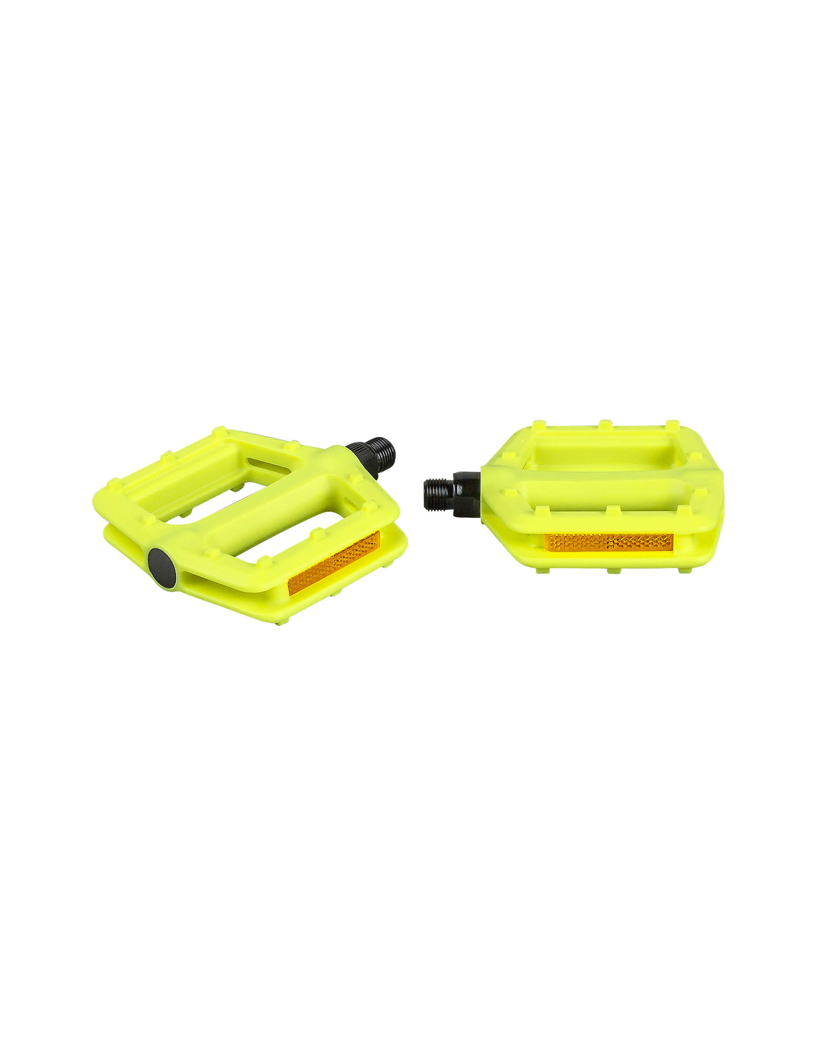 VP Components Pedal Vp Grind 916 Inch Visibility Green Pair