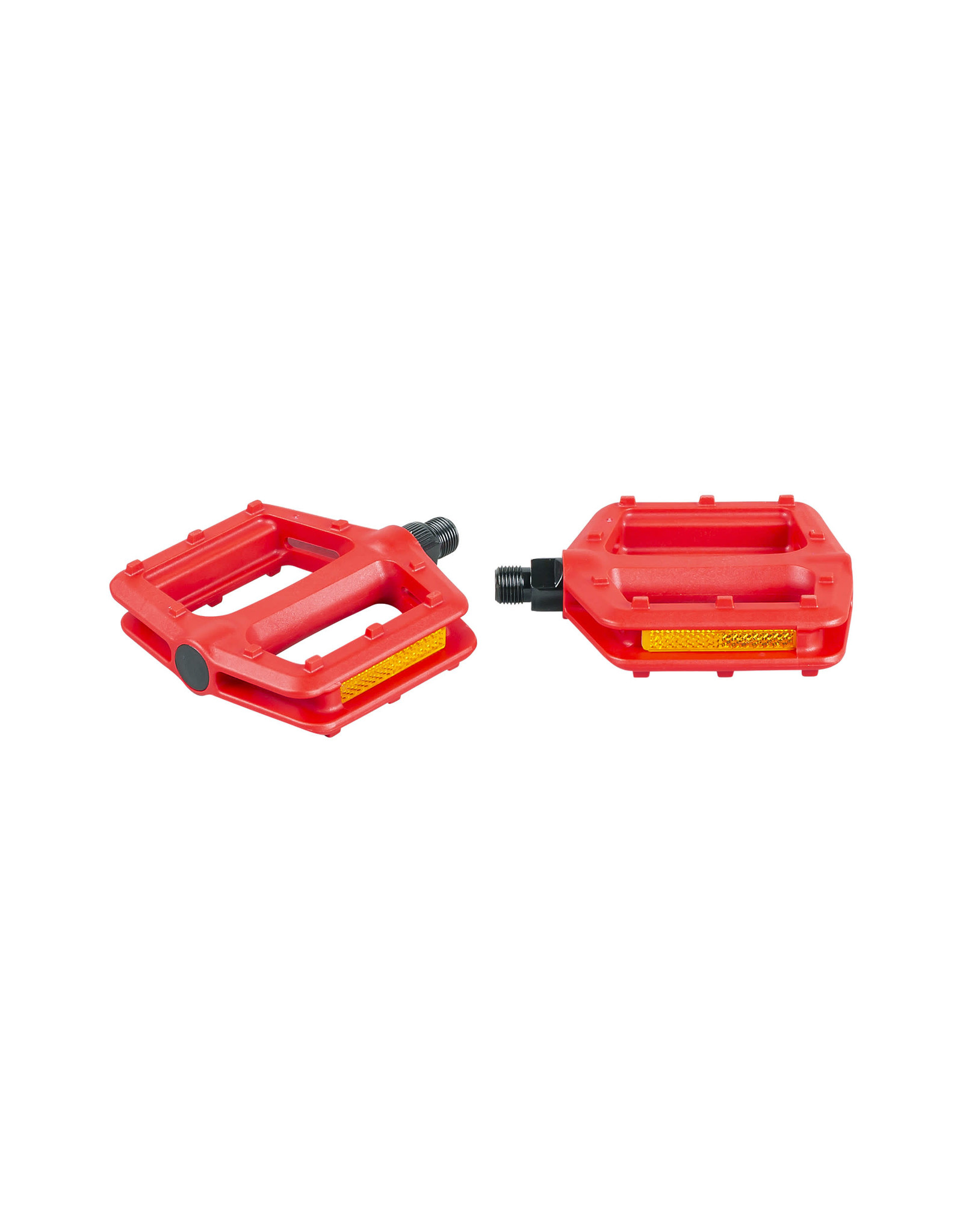 VP Components Pedal Vp Grind 916 Inch Red Pair