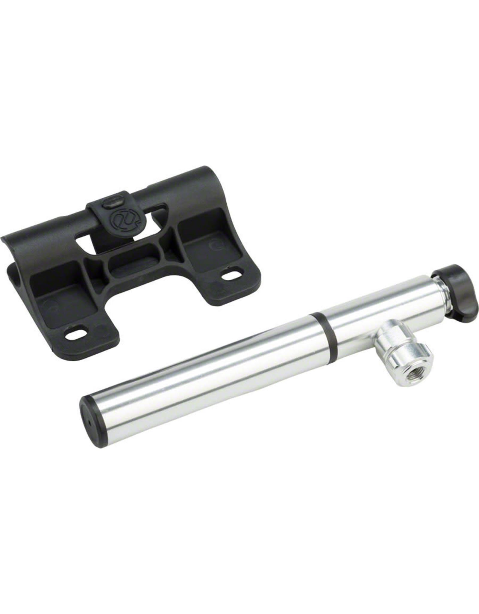 PDW Portland Design Works Ninja Pump and CO2 Inflator: Silver