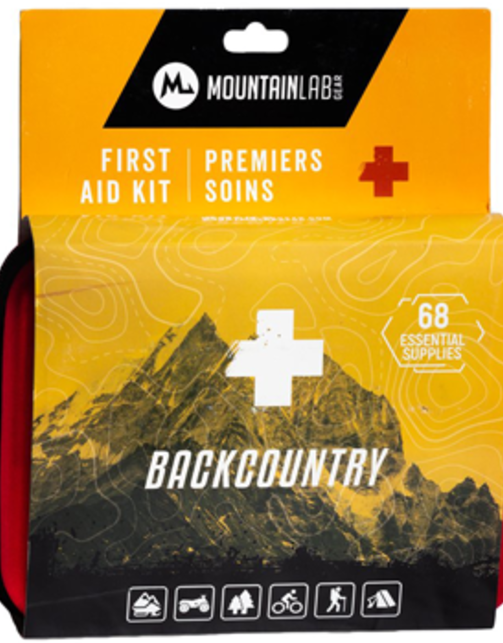 Mountain Lab Backcountry First Aid Kit