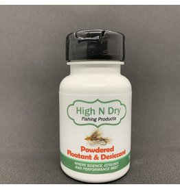 HIGH N DRY FISHING PRODUCTS HIGH N DRY POWDERED FLOATANT & DESICCANT