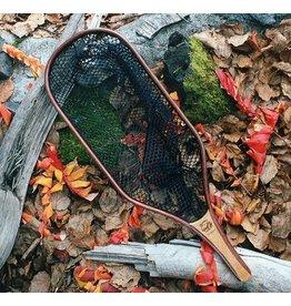 RUSHTON NETS Rushton Rainbow Trout Net - Black Rubber