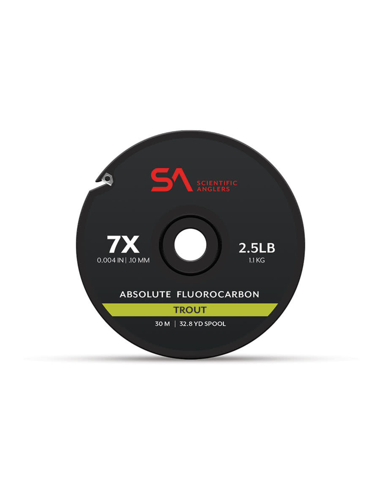 SCIENTIFIC ANGLERS Absolute Fluorocarbon Trout Tippet 30M