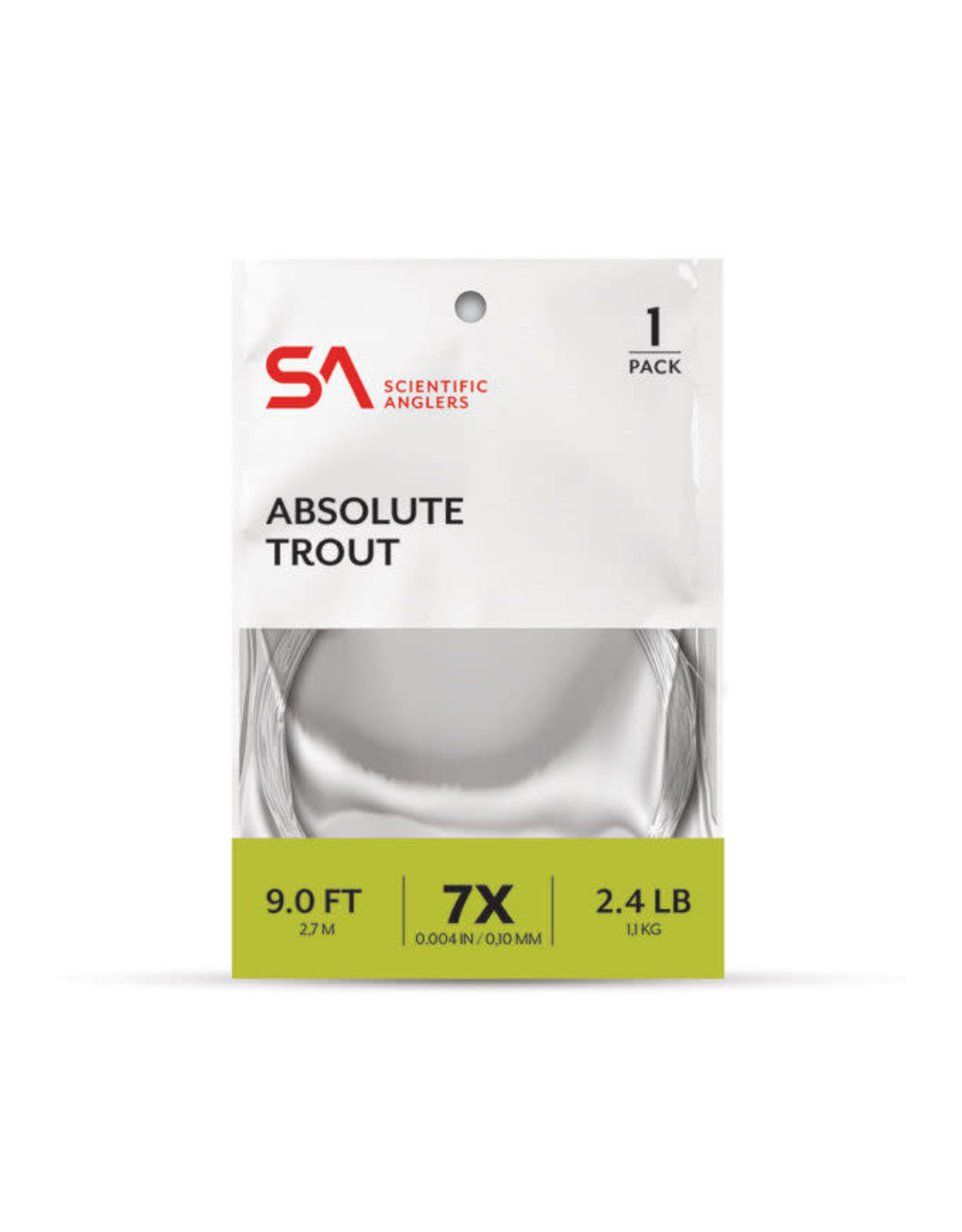 SCIENTIFIC ANGLERS Absolute Trout Leader 1-Pack