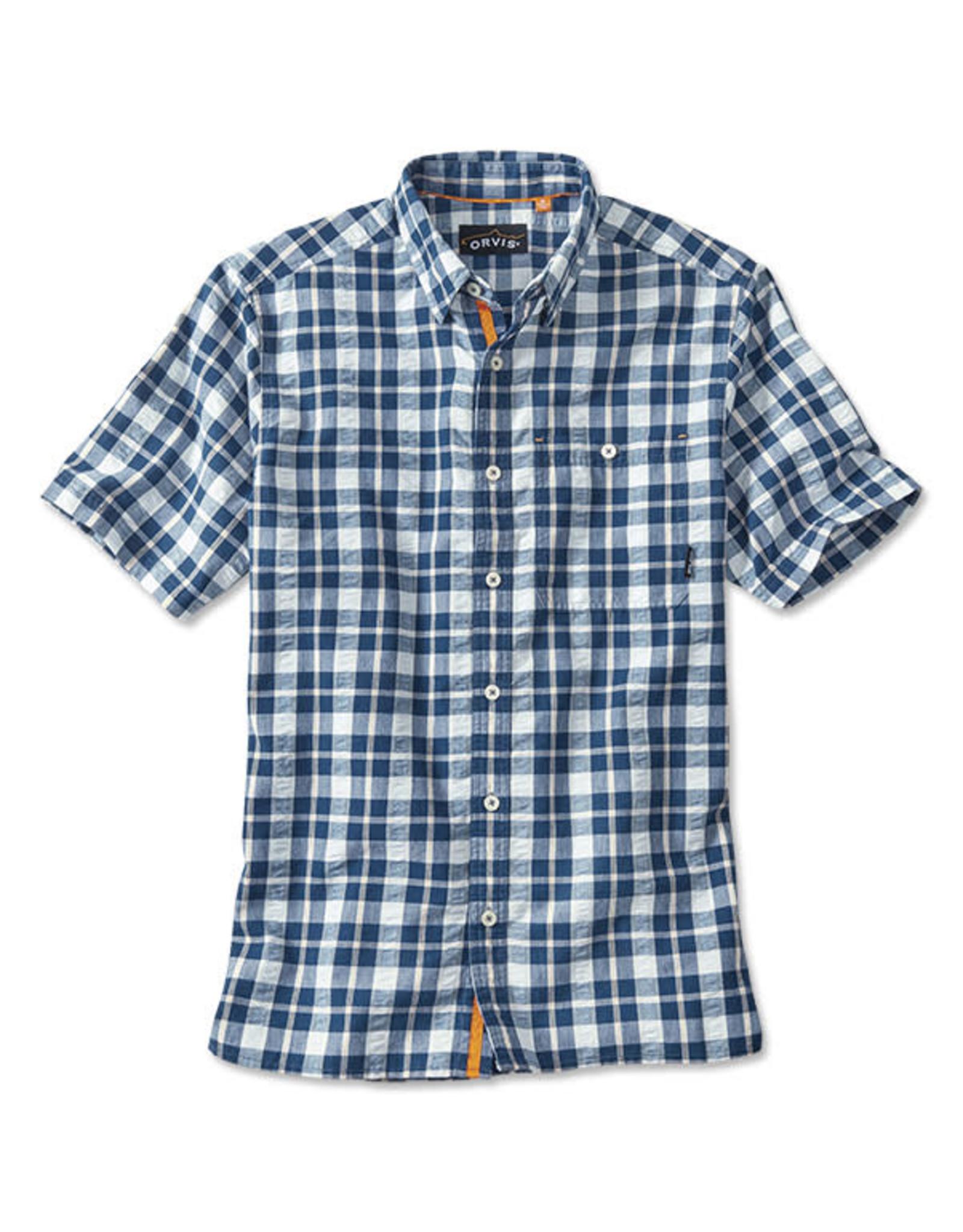 ORVIS Men's Rock Point Short-Sleeved Camp Shirt