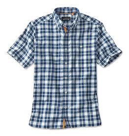 ORVIS Men's Rock Point Short-Sleeved Camp Shirt