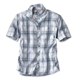 ORVIS Men's Aerated Plaid Short-Sleeved Camp Shirt