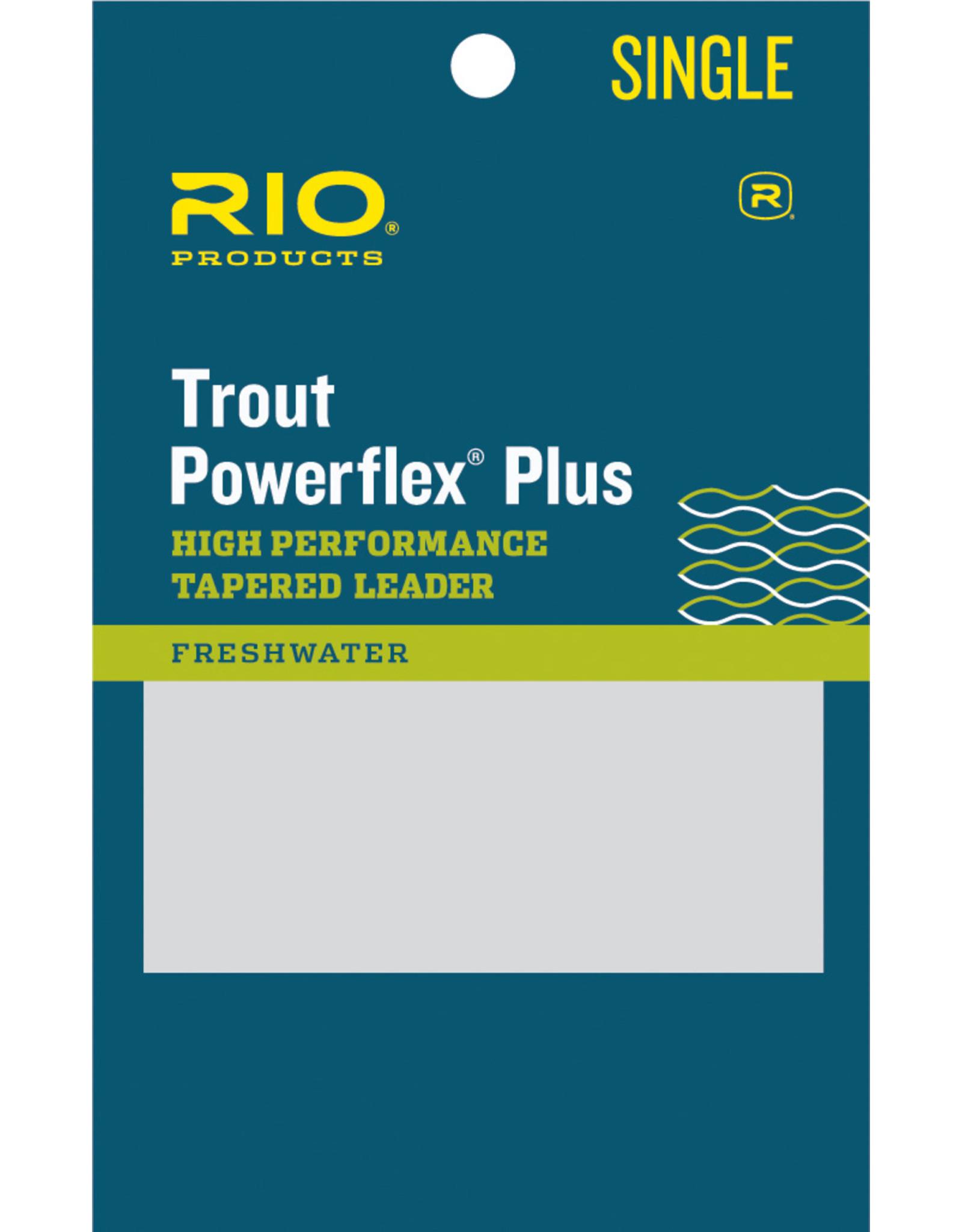 RIO Powerflex Plus Leader - Single Pack