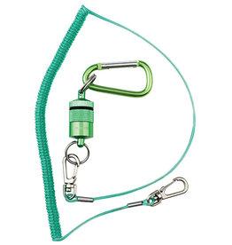 DR. SLICK Magnetic Net Holder, Green, w/ Net Bungee Cord