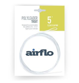 AIRFLO Airflo Trout Polyleader - 5' Floating