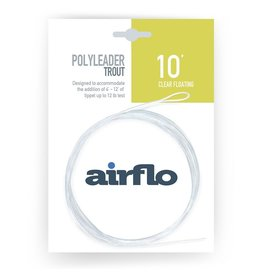 AIRFLO Airflo Trout Polyleader - 10' Floating