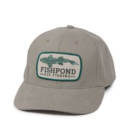 FISHPOND Fishpond Cruiser Trout Hat - Full Back - Chalk Bluff