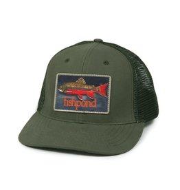 FISHPOND Fishpond Brookie Hat - Olive