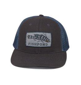 FISHPOND Fishpond Meathead Hat - Charcoal/Slate
