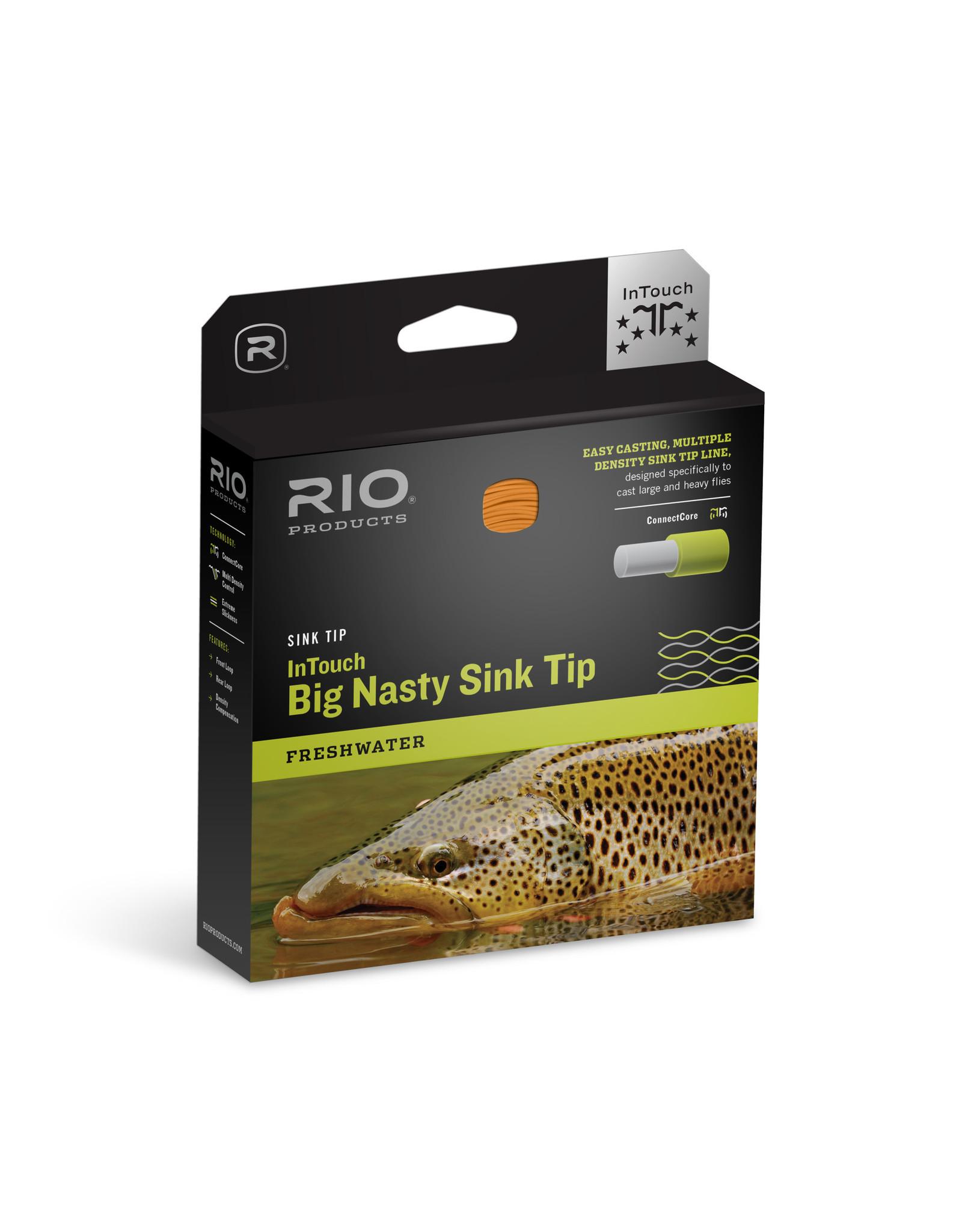 RIO InTouch Big Nasty 3D Sink Tip -  WF8 F/H/I/S
