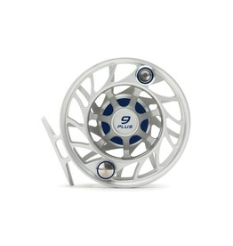 HATCH OUTDOORS 9 Plus Gen 2 Finatic Large Arbor Fly Reel - Clear/Blue