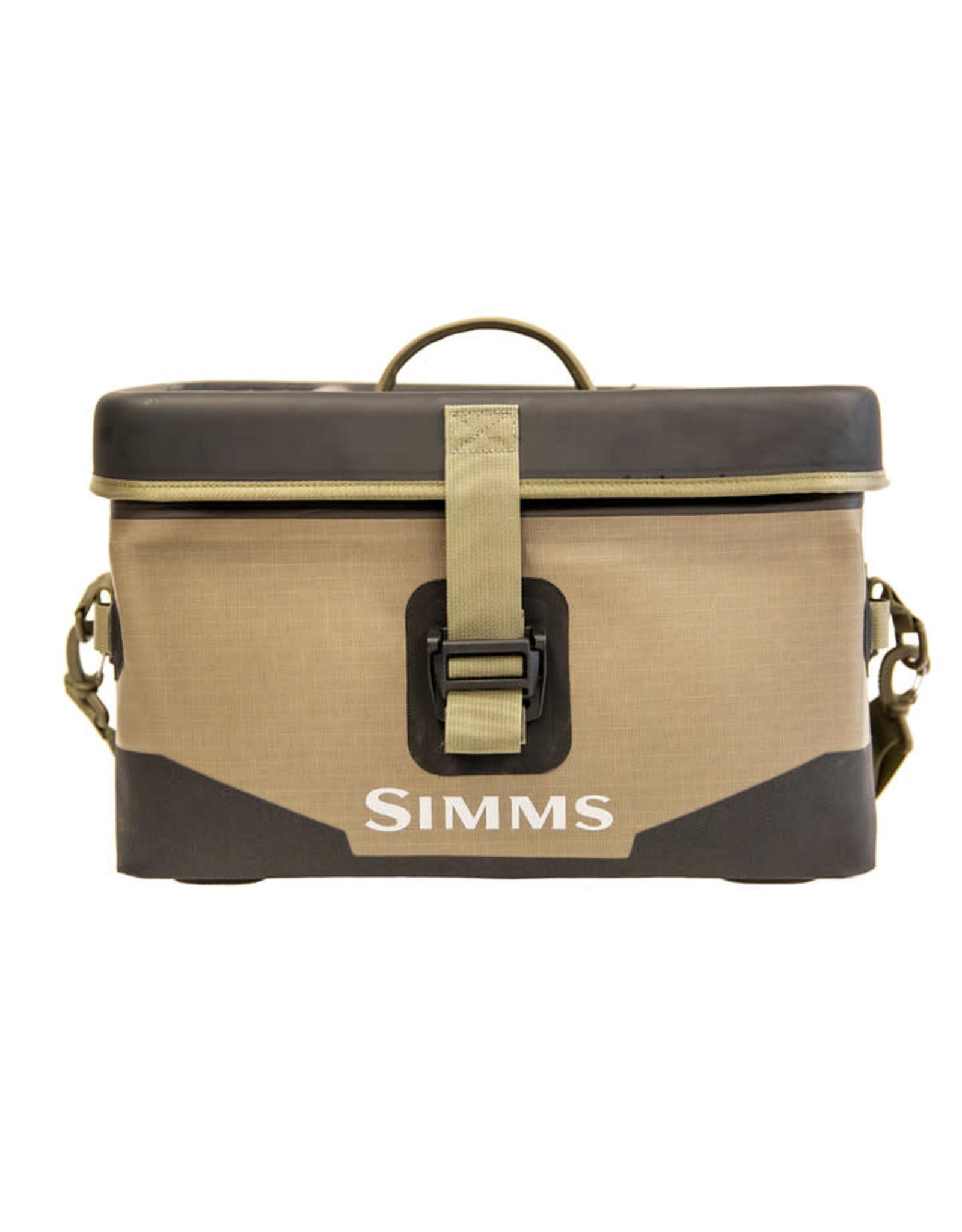 SIMMS SIMMS DRY CREEK BOAT BAG LARGE - 40L TAN