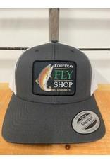 Kootenay Fly Shop Hats - Fish Logo