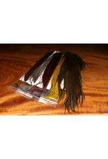 KEOUGH HACKLE Half Saddle Grade #1 Keough Grizzly