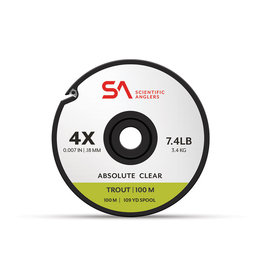 SCIENTIFIC ANGLERS Scientific Anglers Absolute Trout Tippet - 100 m
