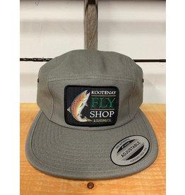 Kootenay Fly Shop Hats Fish Logo Classic Jockey Camp Cap