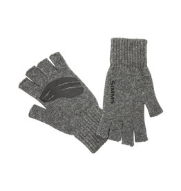 SIMMS Simms Wool Half Finger Mitt Steel L/XL