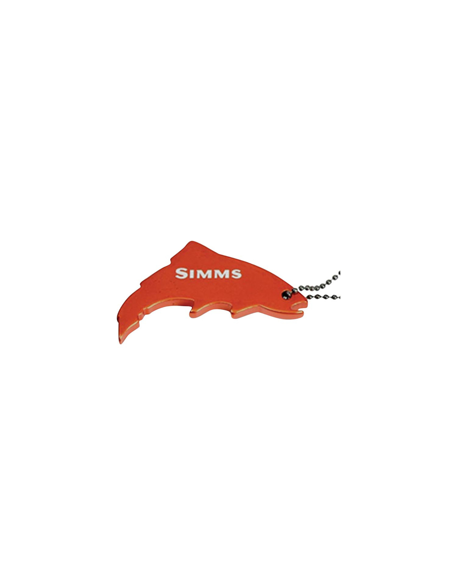 SIMMS SIMMS THIRSTY TROUT KEYCHAIN SIMMS ORANGE ONE SIZE