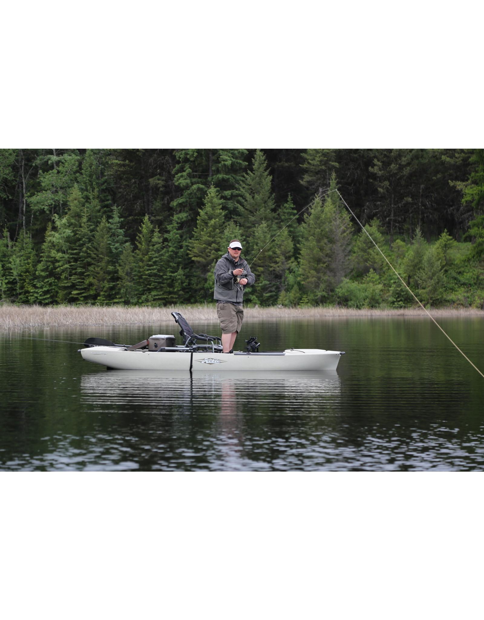 HOBIE FISHING KAYAK PRO ANGLER 12 - OLIVE (DEMO MODEL)