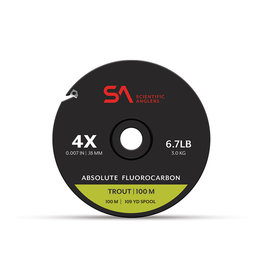 SCIENTIFIC ANGLERS Absolute Fluorocarbon Trout Tippet 100M