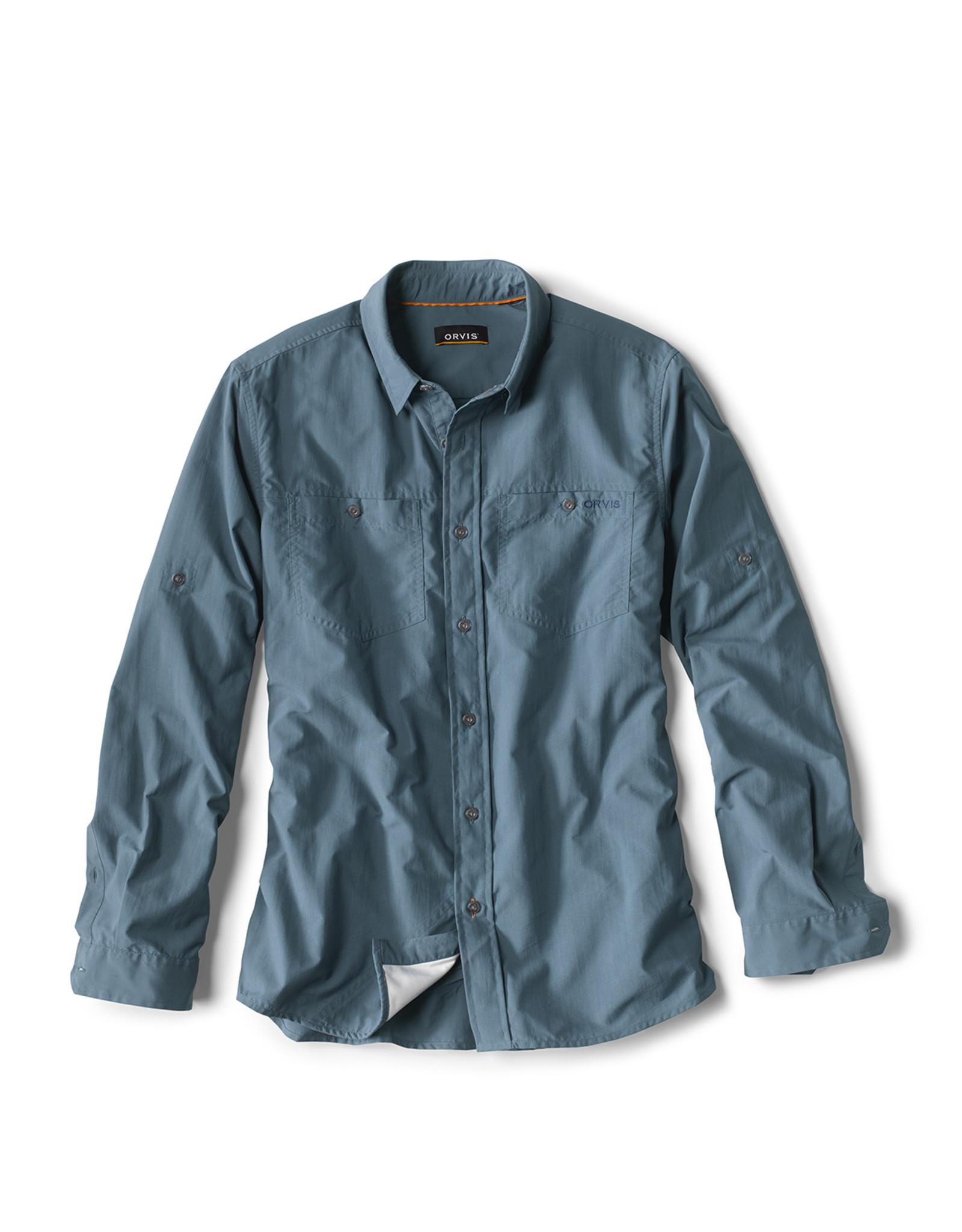 ORVIS Escape Long-Sleeve Shirt - Bay Blue