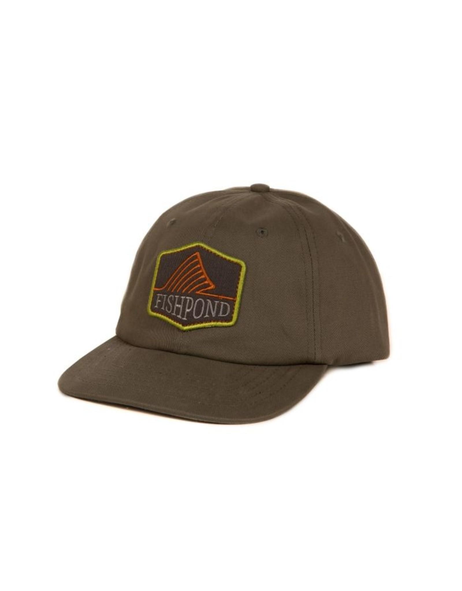 FISHPOND Fishpond Dorsal Fin - Moss - Full Back Hat