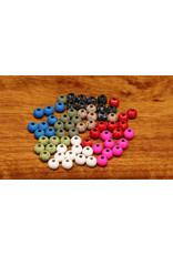 HARELINE DUBBIN Mottled Tactical Slotted Tungsten Beads