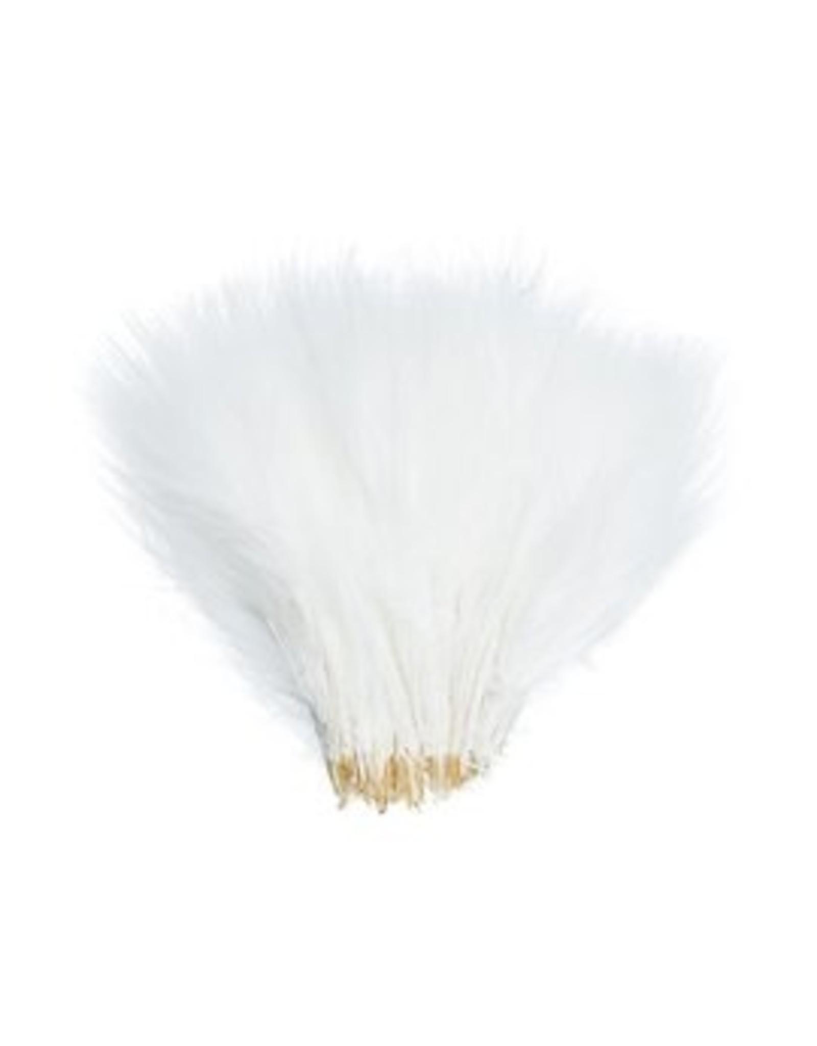 WAPSI FLY Wooly Bugger Marabou - White