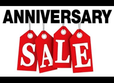 Anniversary Sale - 25% Off