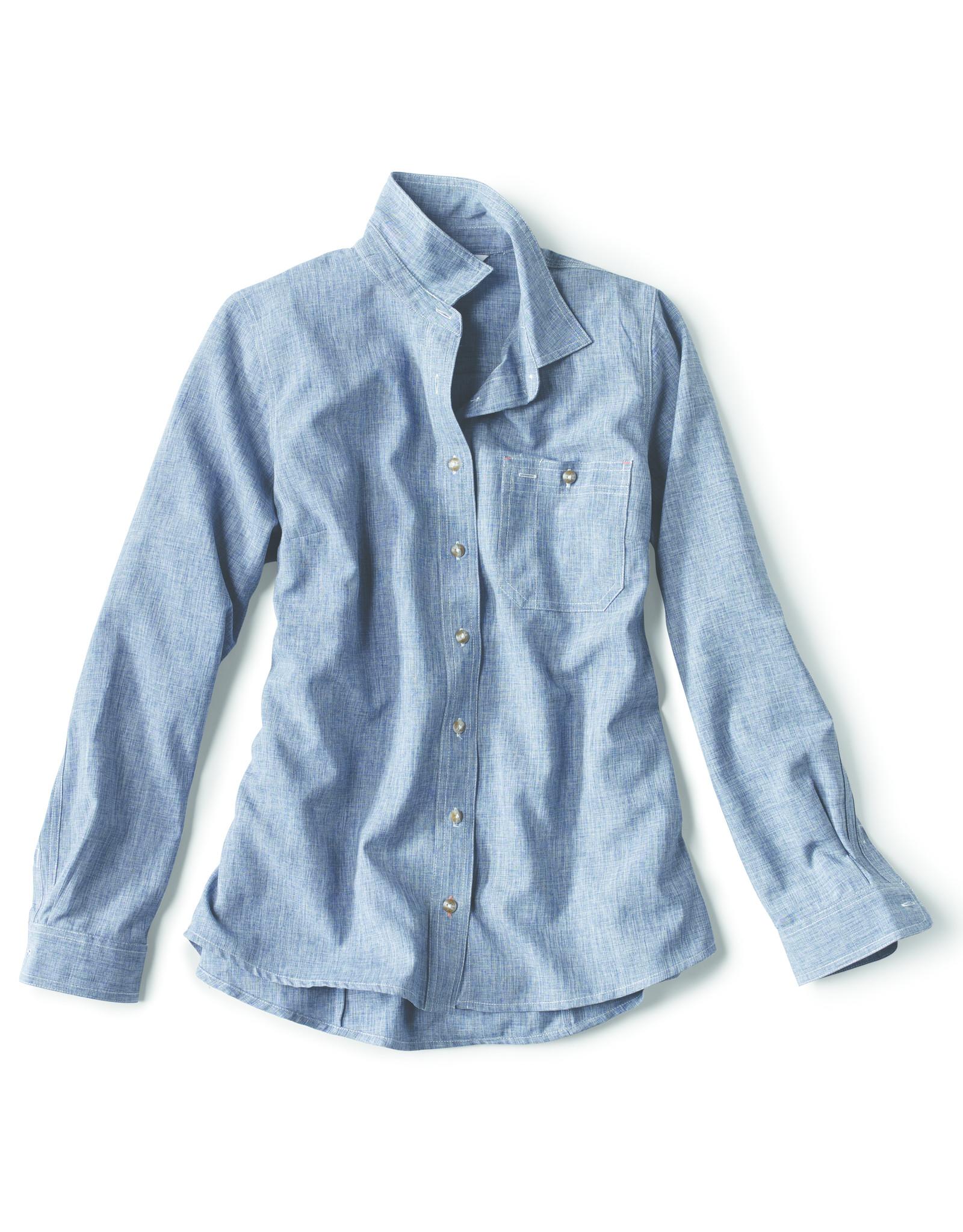 ORVIS Women's Tech Chambray Work Shirt