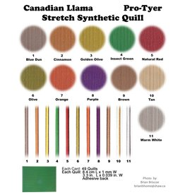 PRO-TYER Stretch Synthetic Quill