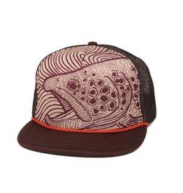 FISHPOND Fishpond Foamy Brown Hat- Limestone/Bark