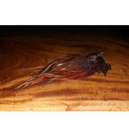 HARELINE DUBBIN Dyed Over White Saddle Brown #40